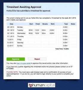 online timesheet sample