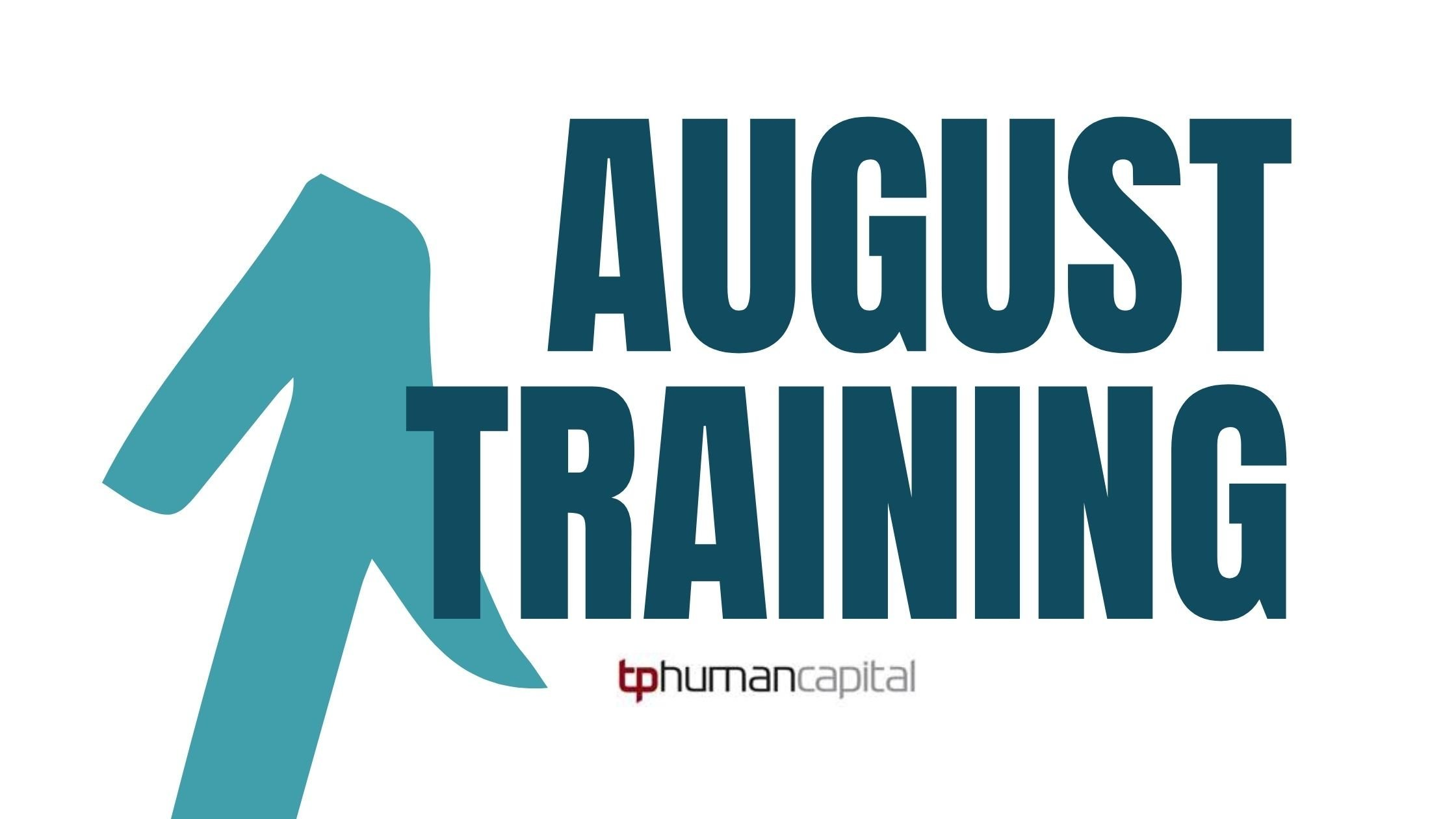 August Training Schedule