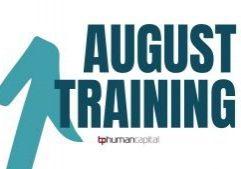 August Training Schedule