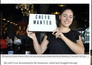 Chefs wanted Townsville